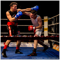 Sports: Amateur Fights Antwerp Boxing Gala, Nov 2014