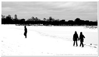 Winter walk (two versions)